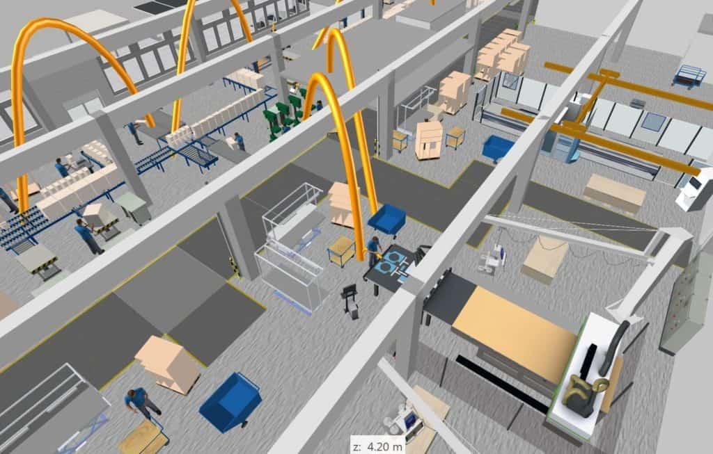 3D-Planung der Fertigung mit visTABLE bei d&b Audiotechnik