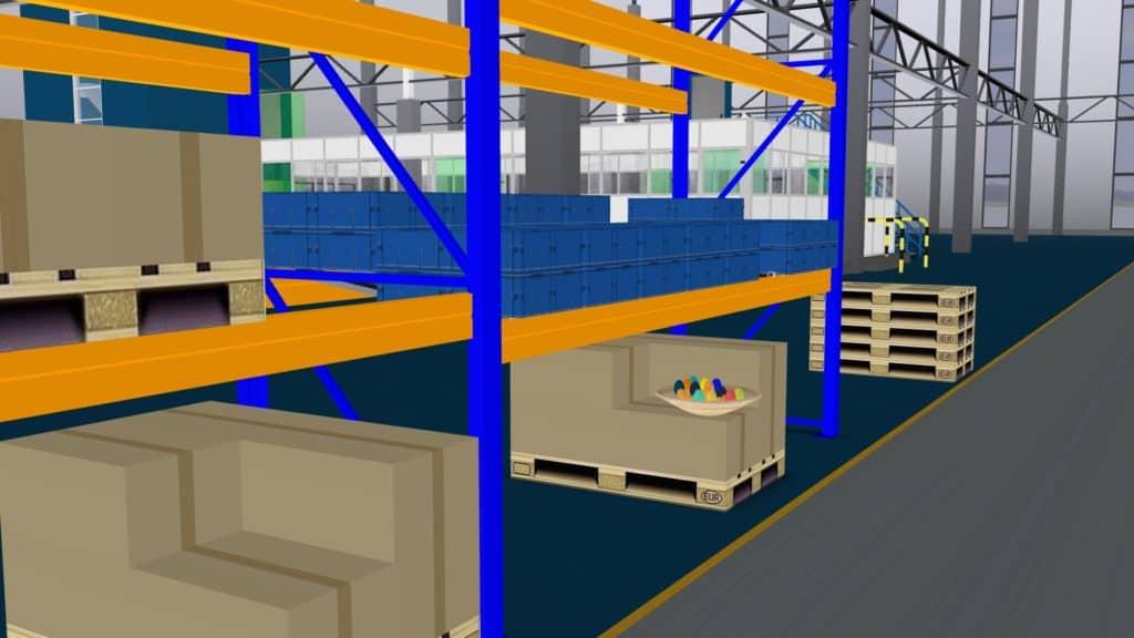 Dieses Osternest wurde im virtuellen Palettenregal der Digitalen Fabrik entdeckt.