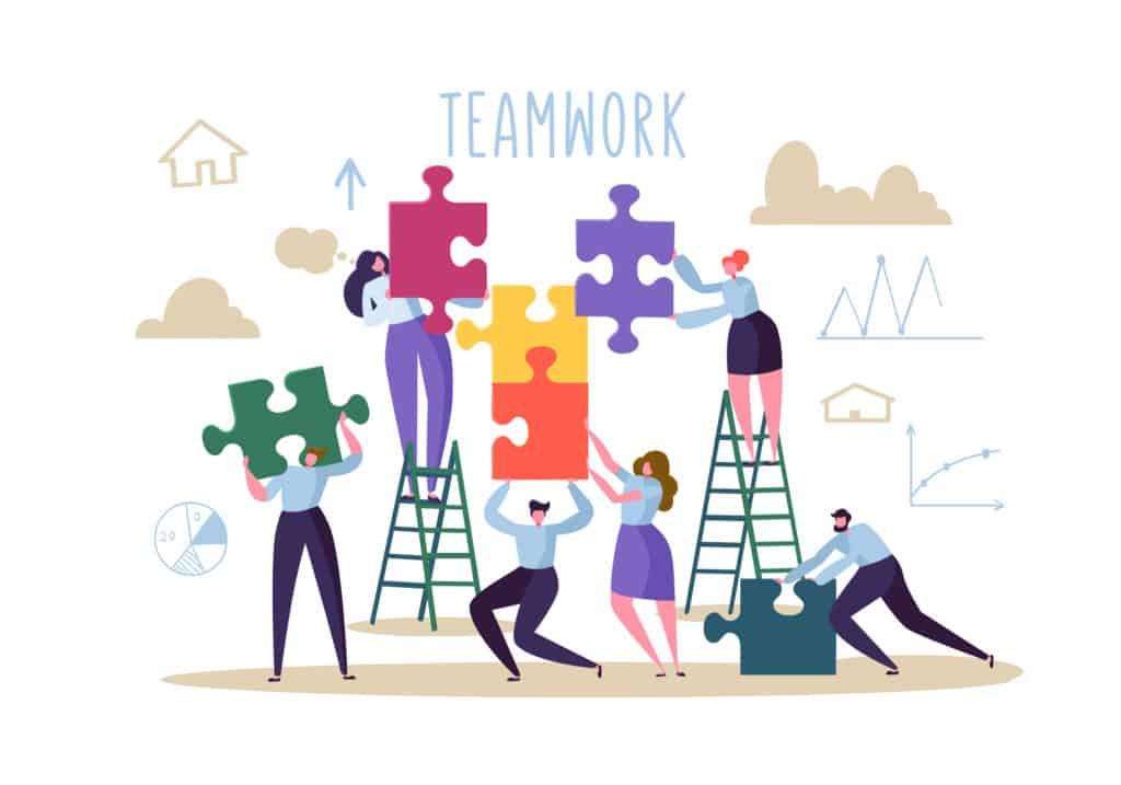 Kollaborieren macht Teamarbeit in der Layoutplanung erfolgreich.