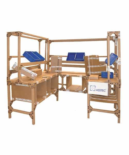 Using cardboard engineering kits increases the efficiency of the lean workshop