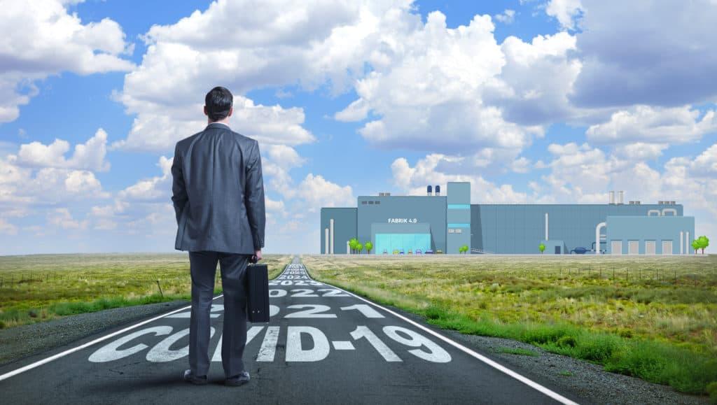 Metapher zur Entscheidung für eine zukunftsfähige Gestaltung der Fabrik produzierender Unternehmen mit flexibler Produktion in Zeiten von Corona