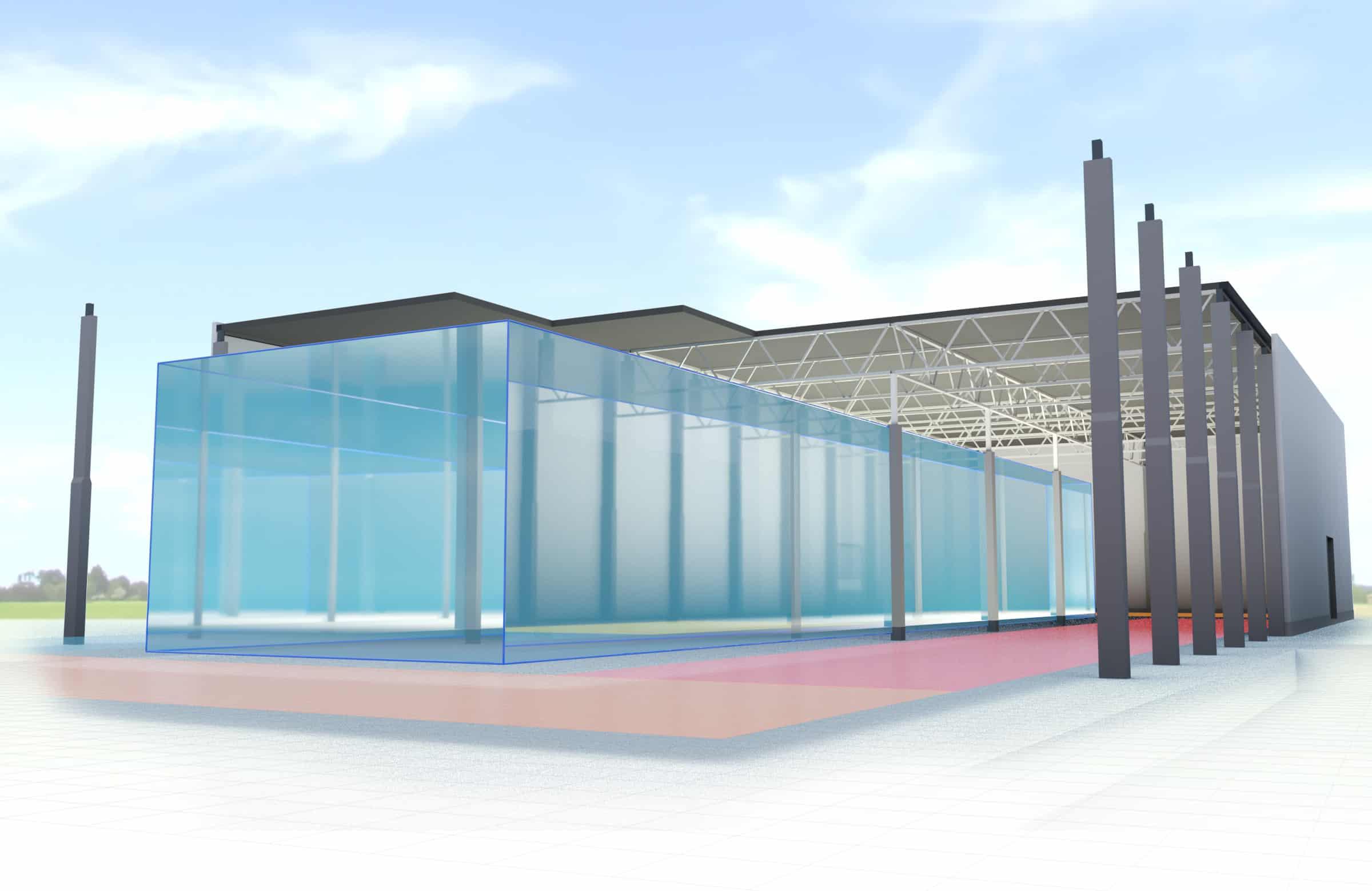 3D-Visualisierung in der Werkhallenplanung