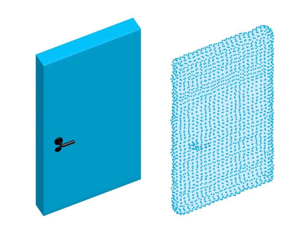 Ungenauigkeiten mobiler Laser Scanner an Ecken und Kanten von Objekten