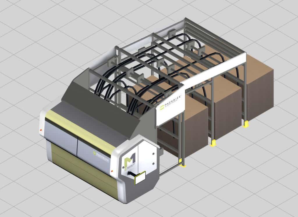 Beispiel in der Modellbibliothek einer Packsize Verpackungsmaschine bei VEGA Grieshaber in visTABLE®touch