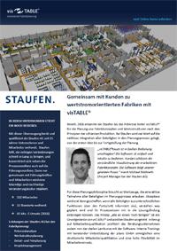 visTABLE® Software Kundenbericht STAUFEN.AG
