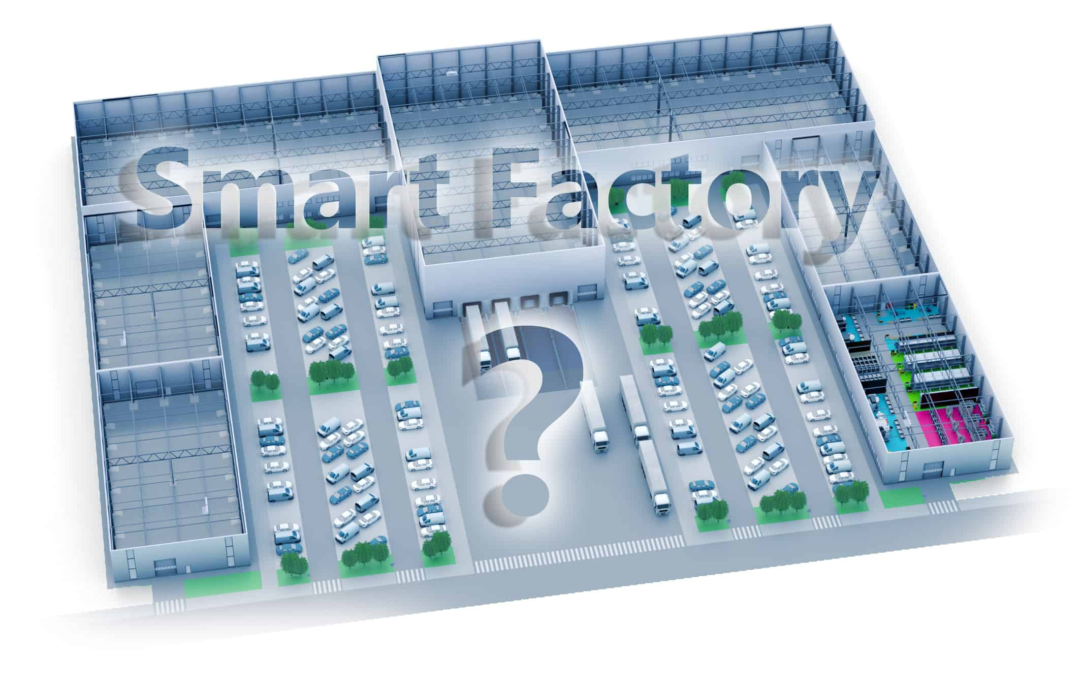 Illustration zur Frage nach der Smart Factory